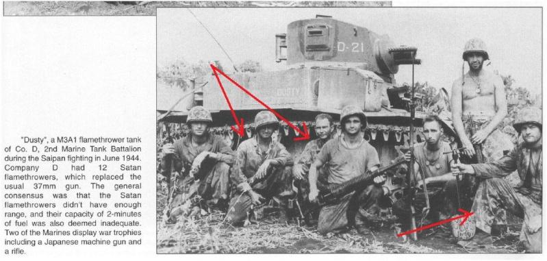 M3 75 mm pacifique 1/72 Saipan10