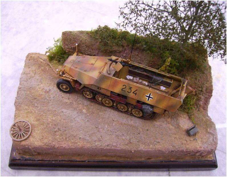 sdkfz 251 D dragon 1/72° Sd1110