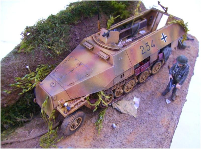 sdkfz 251 D dragon 1/72° Sd510