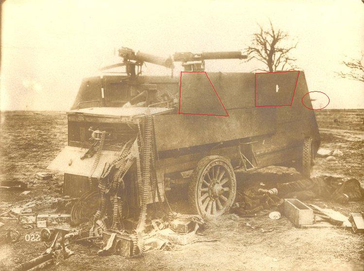 Canadian armoured autocar 1918 - Scratch 1/72 Ww1_en11