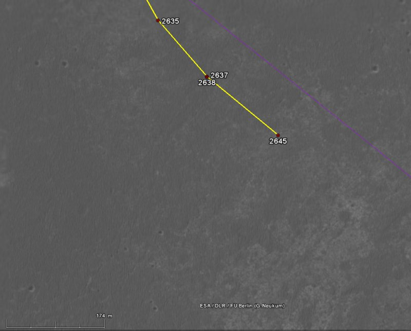 Opportunity va explorer le cratère Endeavour - Page 13 Image120