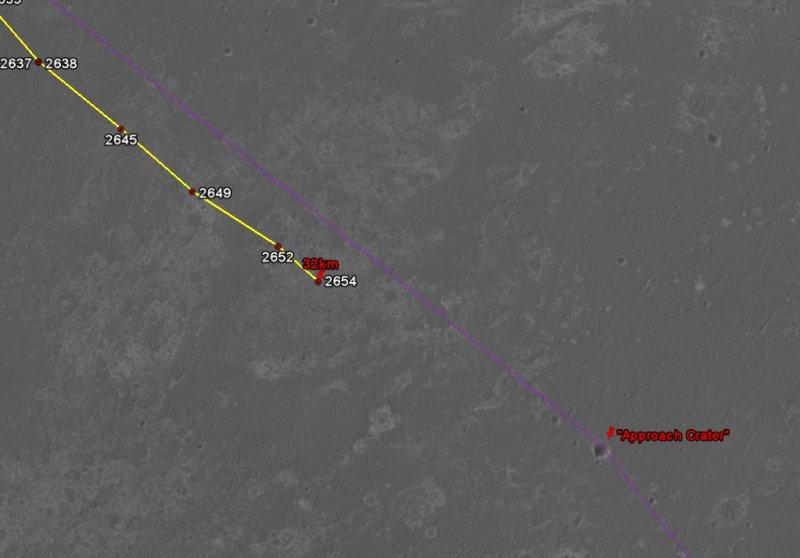 Opportunity va explorer le cratère Endeavour - Page 13 Image129