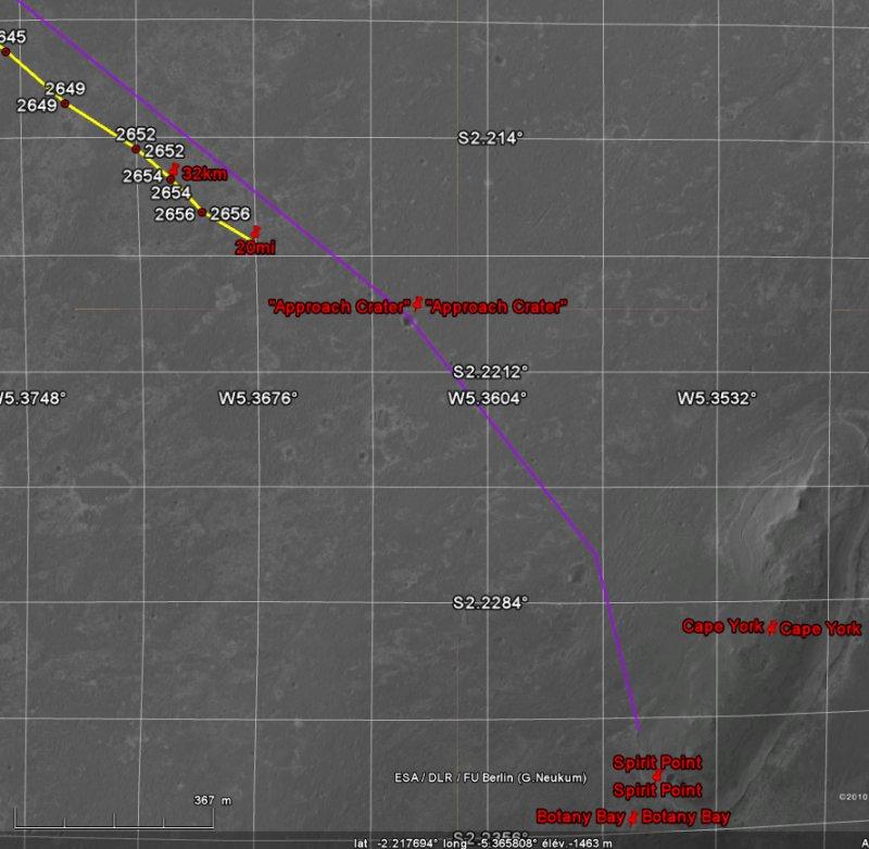 Opportunity va explorer le cratère Endeavour - Page 13 Image132