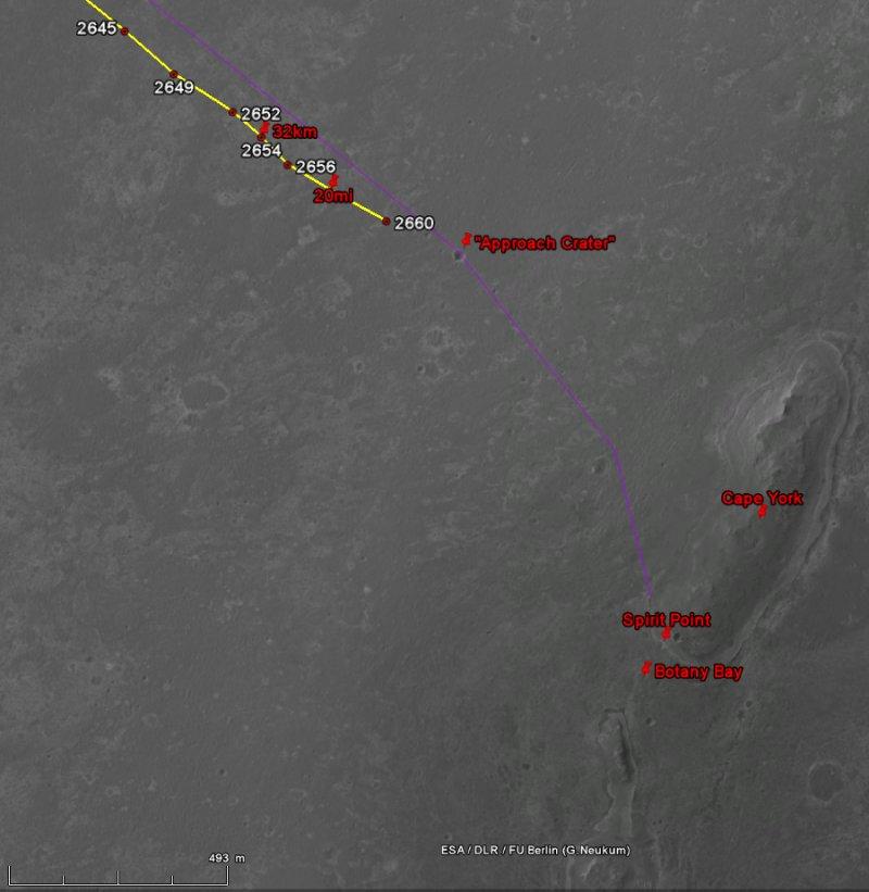 Opportunity va explorer le cratère Endeavour - Page 13 Image133