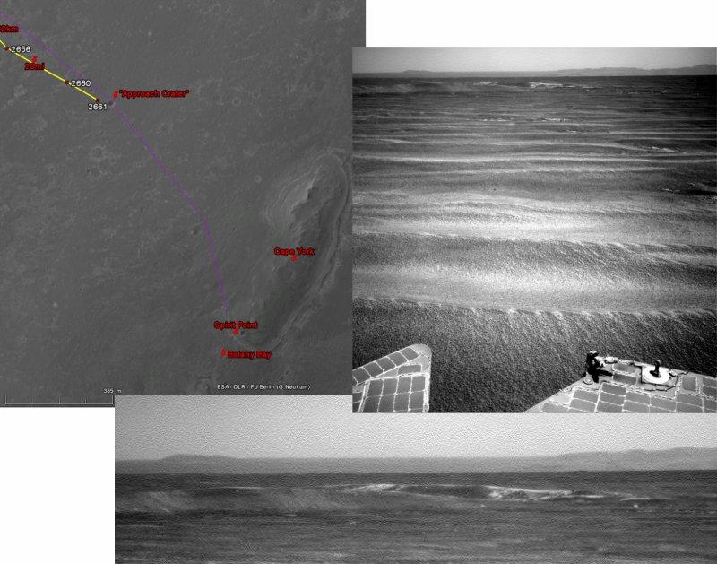 Opportunity va explorer le cratère Endeavour - Page 13 Image135