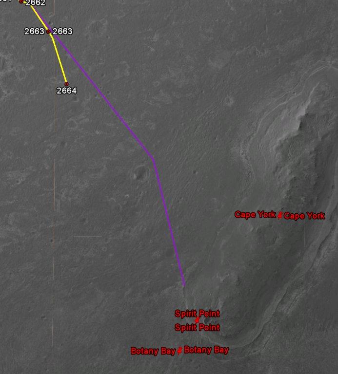 Opportunity va explorer le cratère Endeavour - Page 14 Image140