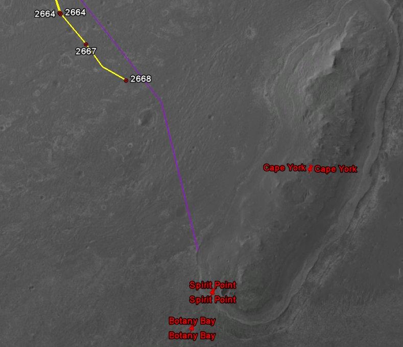 Opportunity va explorer le cratère Endeavour - Page 14 Image145