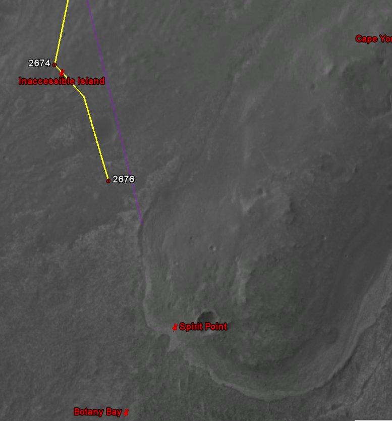 Opportunity et l'exploration du cratère Endeavour Image153