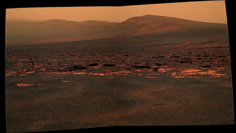 Opportunity et l'exploration du cratère Endeavour Image158