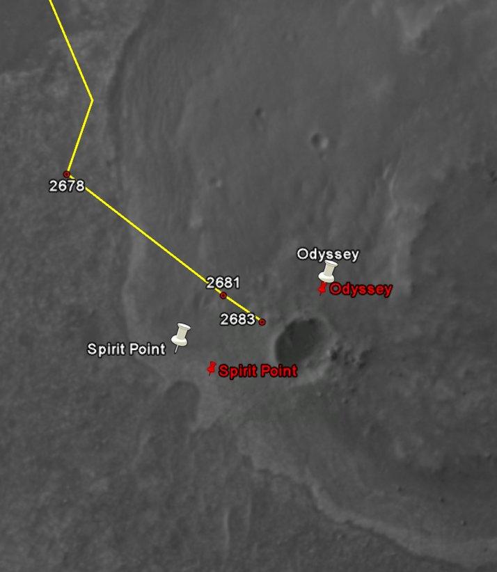 Opportunity et l'exploration du cratère Endeavour - Page 2 Image162