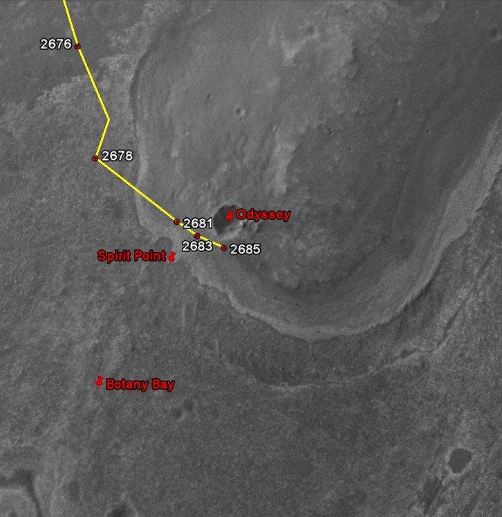 Opportunity et l'exploration du cratère Endeavour - Page 2 Image163
