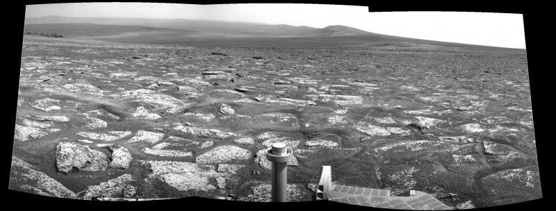 Opportunity et l'exploration du cratère Endeavour Image222