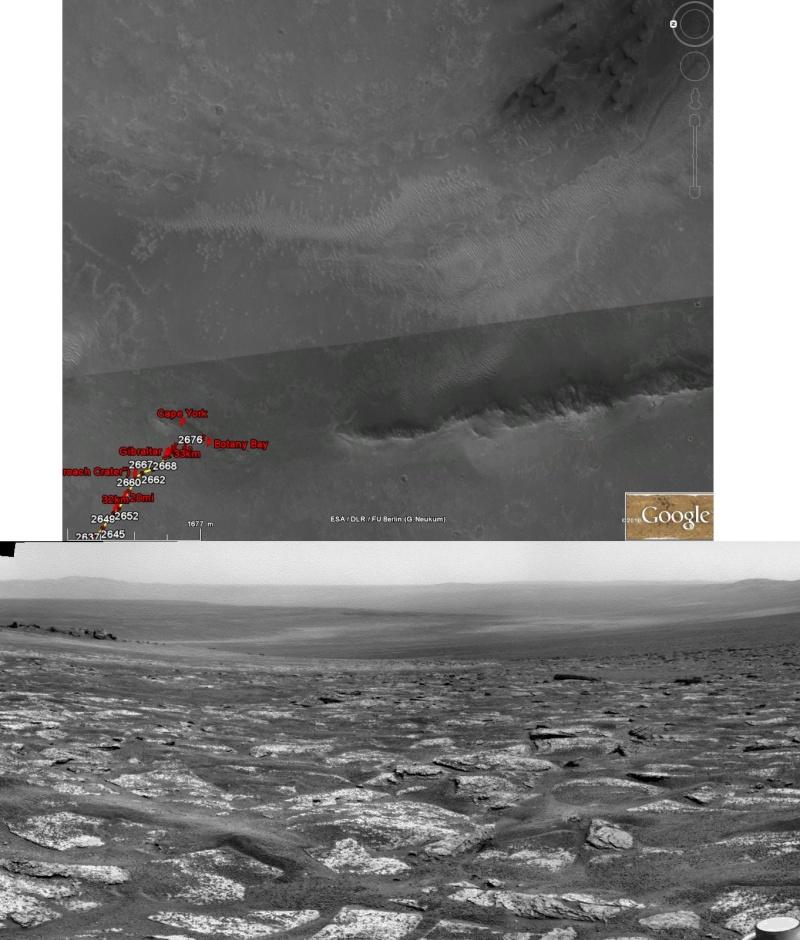 Opportunity et l'exploration du cratère Endeavour Image319