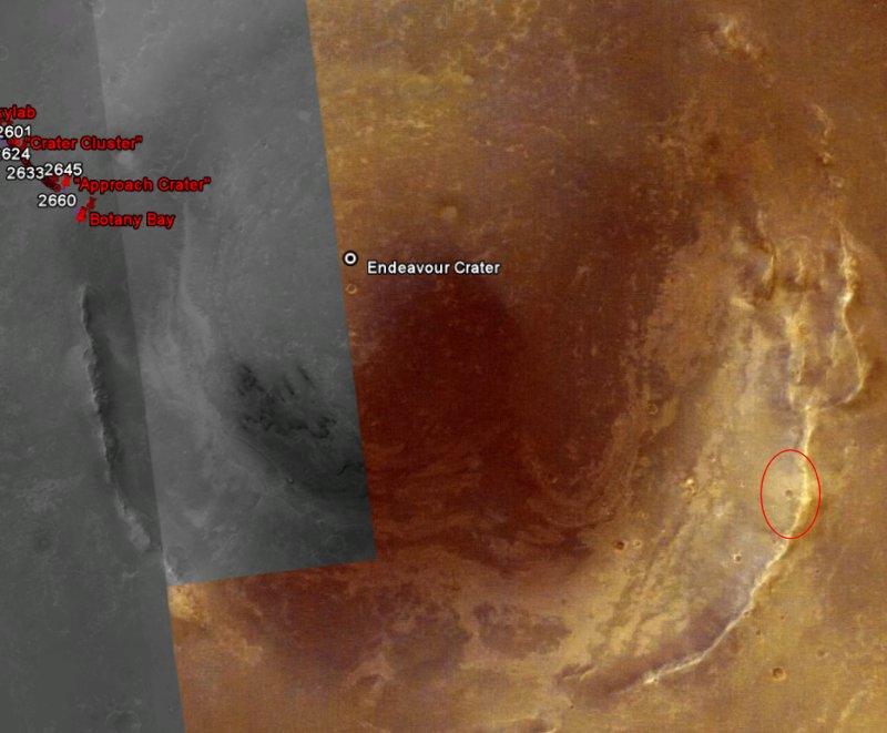 Opportunity va explorer le cratère Endeavour - Page 13 Image412