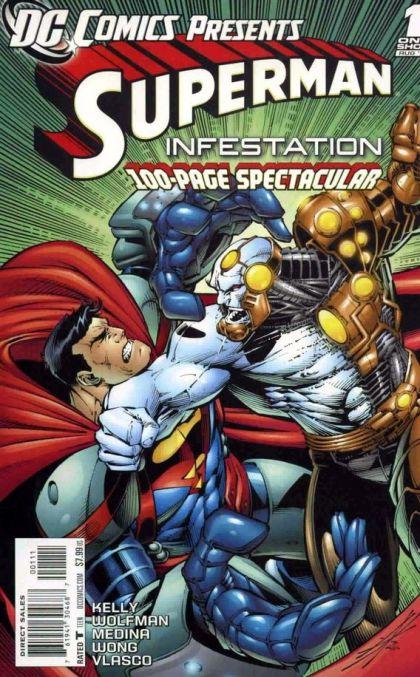 DC Comics presents Superman Infestation.  B5_27810