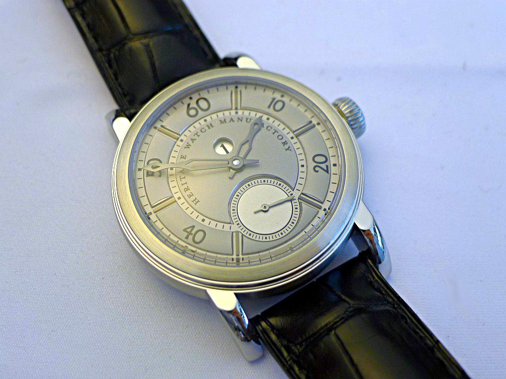 Heritage Watch Manufactory: Viator Agenev28