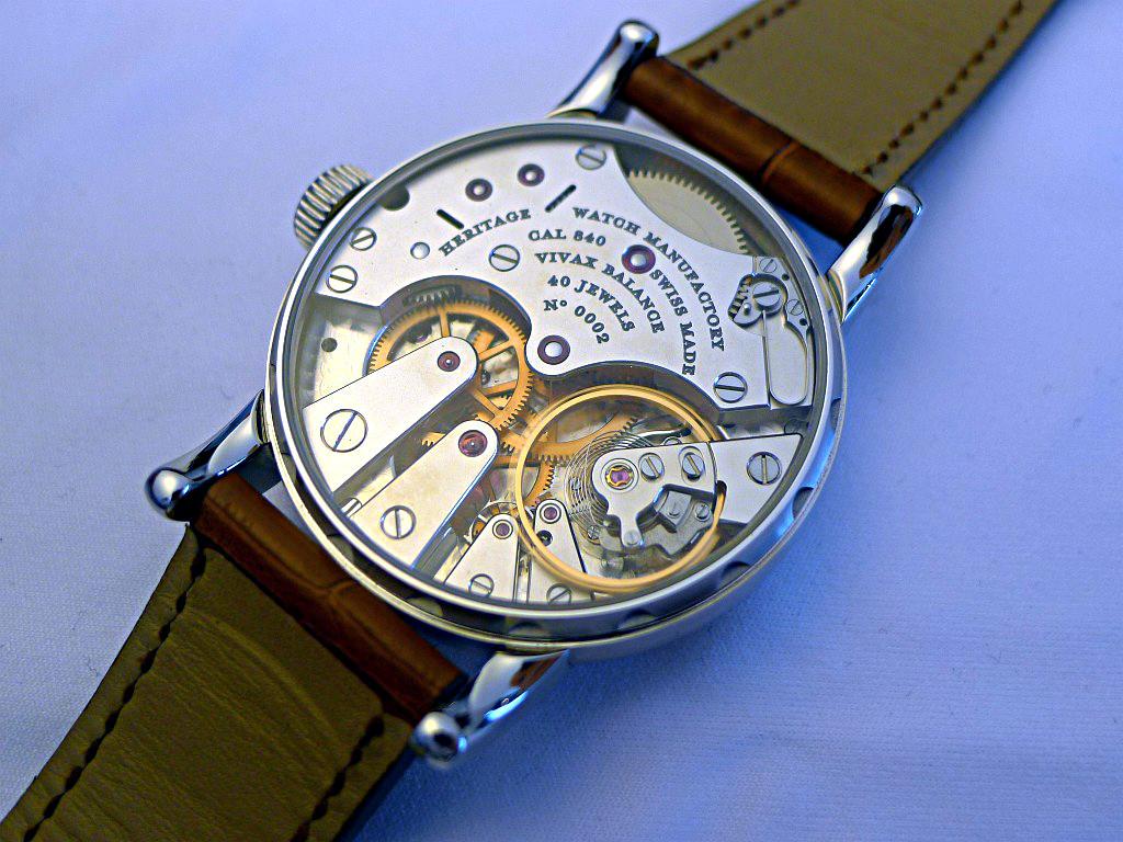 Heritage Watch Manufactory: Viator Agenev29