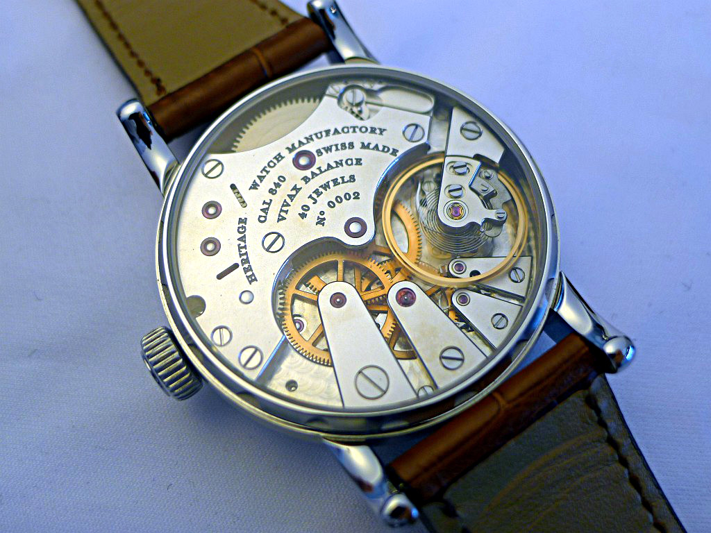 Heritage Watch Manufactory: Viator Agenev30