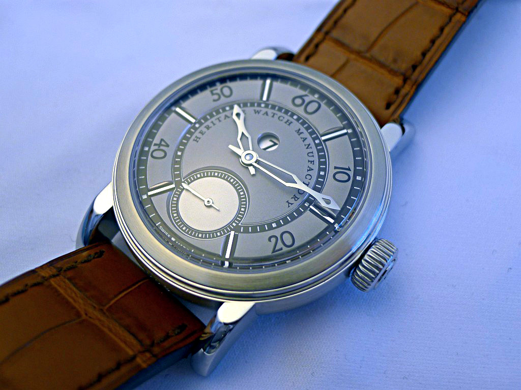 Heritage Watch Manufactory: Viator Agenev31
