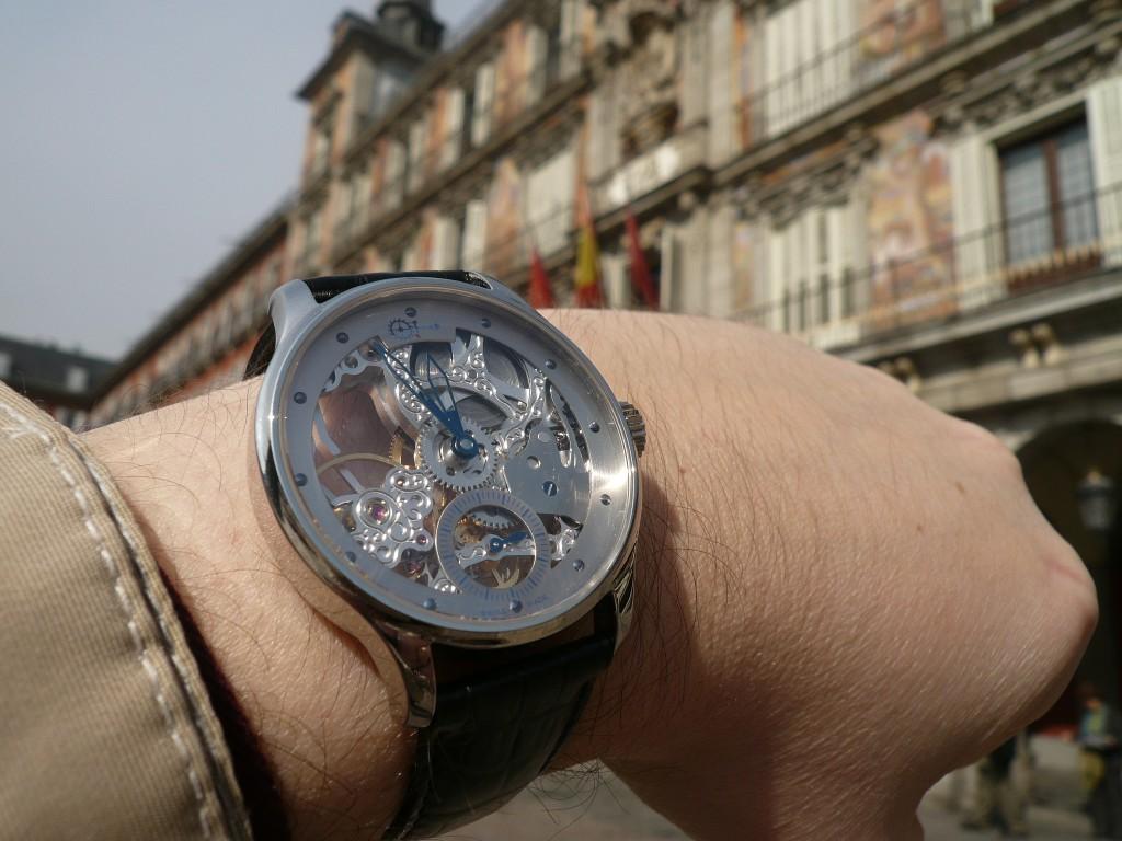 Madrid : Visite chez Pedro Izquierdo Mad31510