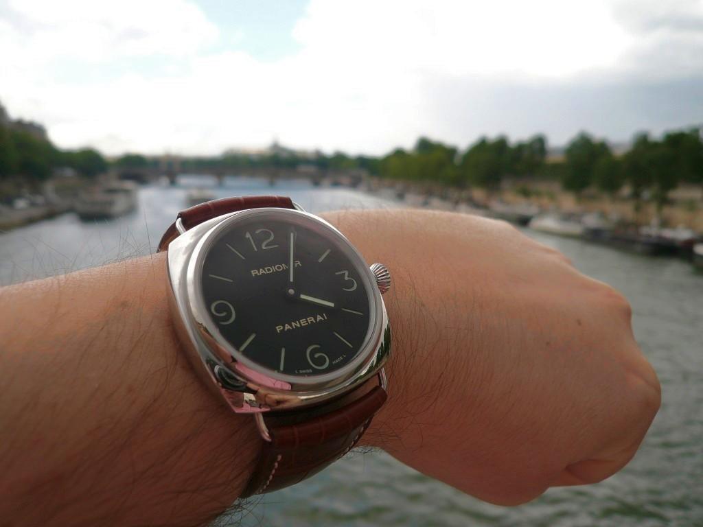 Ma nouvelle montre : La Radiomir PAM 210 Pam0310
