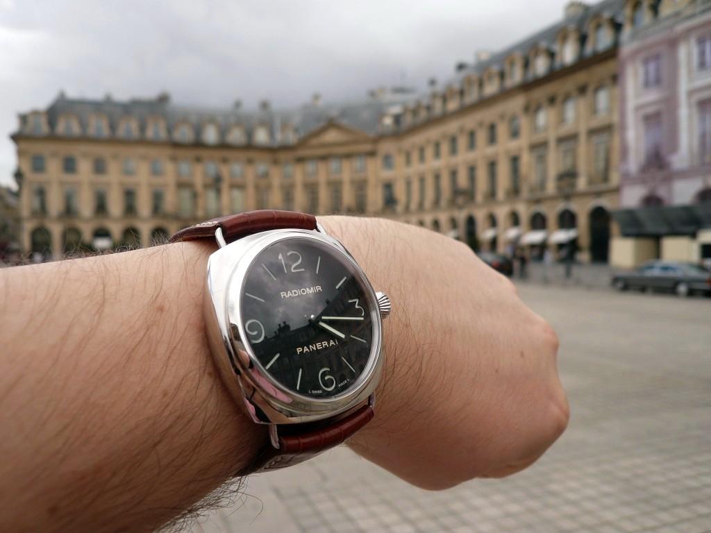 Ma nouvelle montre : La Radiomir PAM 210 Pam0710