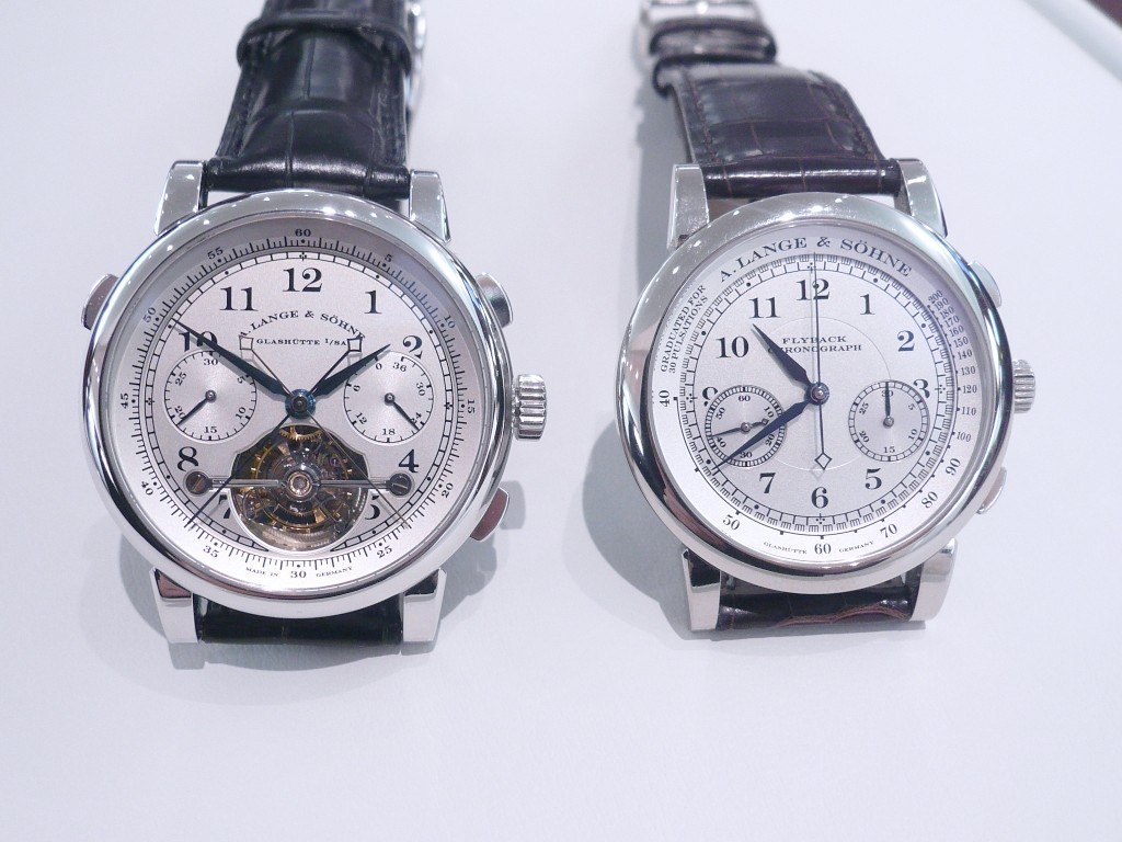 3 versions du Tourbograph Sihh3210