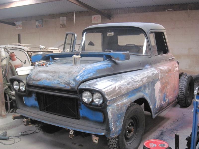 Chevrolet Apache 1958 Travau12