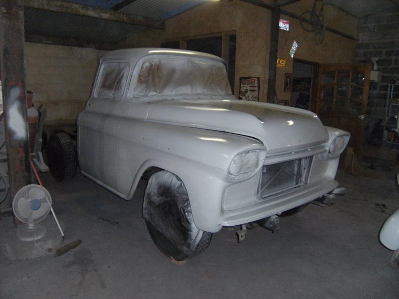Chevrolet Apache 1958 Travau15