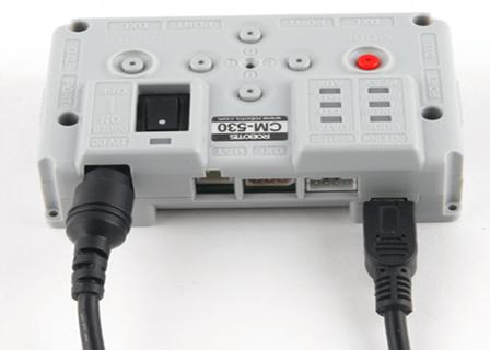 Nuevo controlador CM-530 con CPU ARM Cortex M3 de 32 bits y USB para robots BIOLOID PREMIUM y GP  _mg_9710