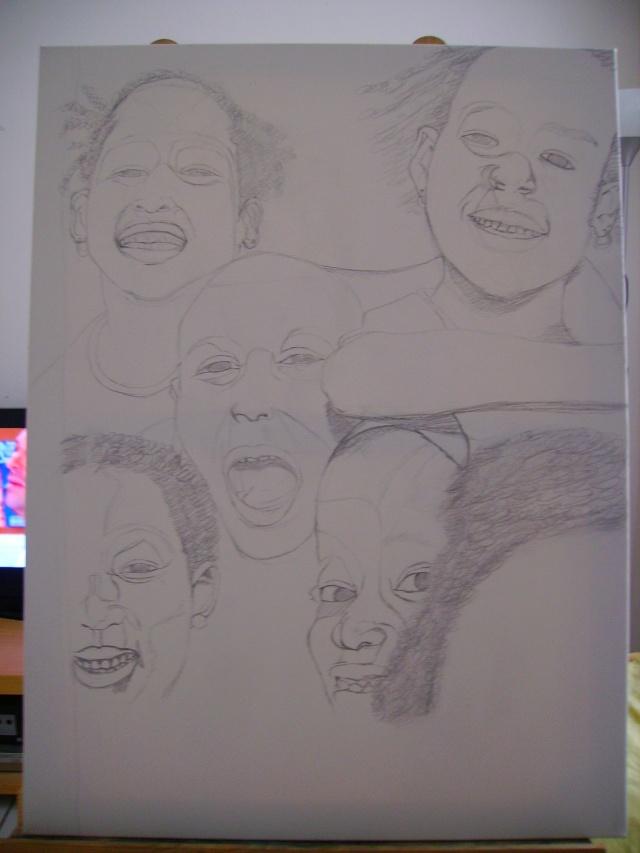 5 visages,2 médiums, 2 couleurs, terminé Imgp0118