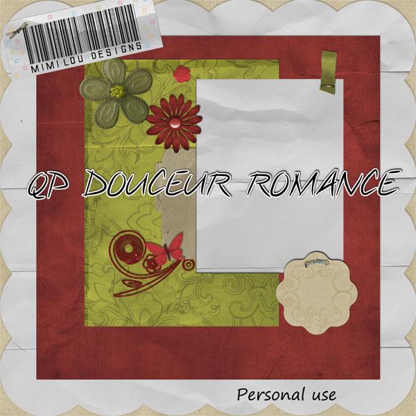 qp douce romance + CU Previ406