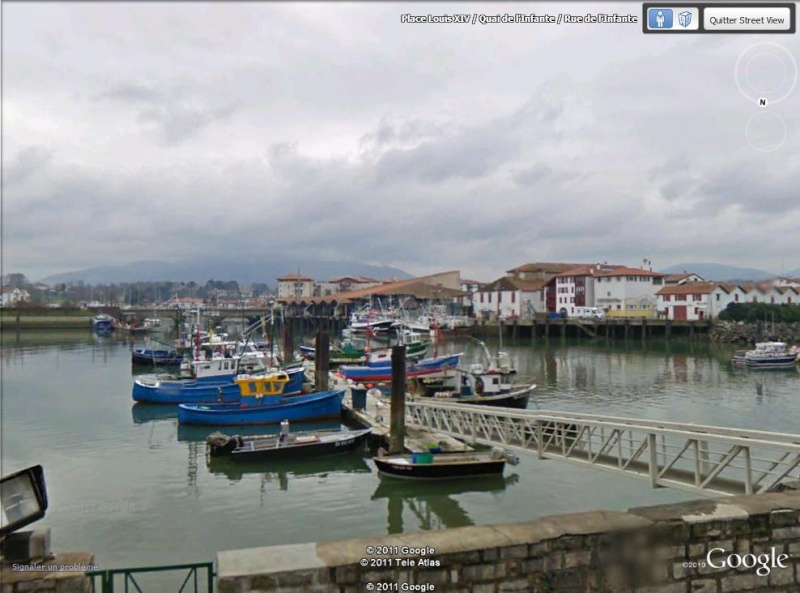STREET VIEW : les cartes postales de Google Earth Port_d10