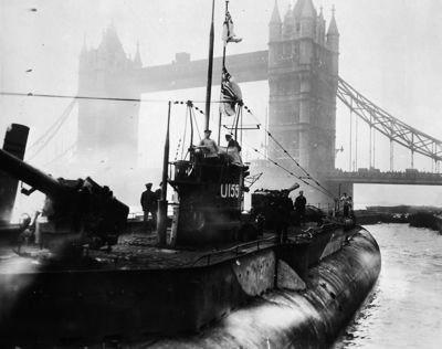 Les cargos sous marins du Kaiser U15510