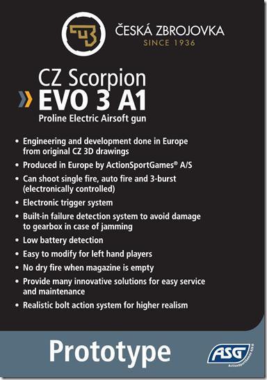ASG: CZ Scorpion EVO 3 A1  Image111