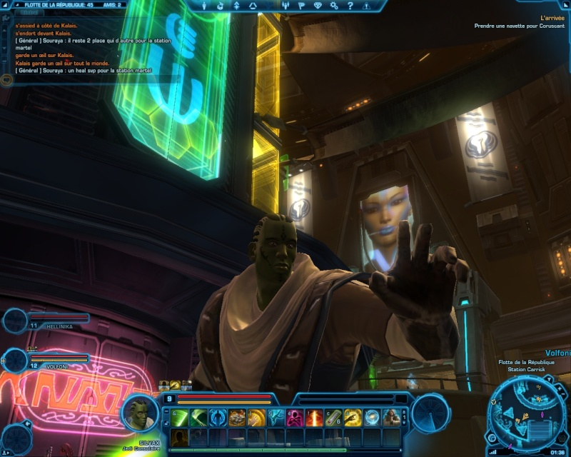 Screenshot de la beta Screen12
