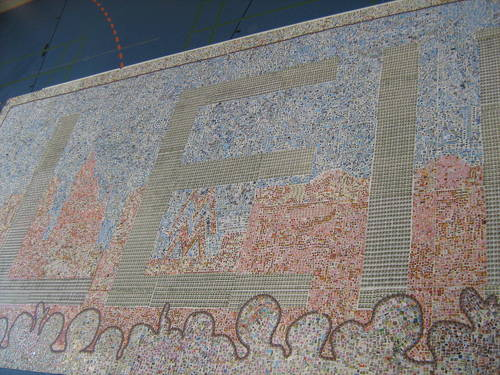 Größtes Briefmarkenmosaik der Welt 0e54de10