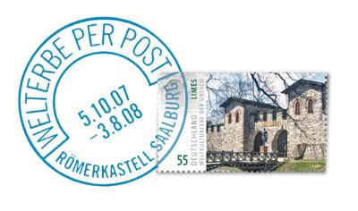 """Sonderausstellung """"Welterbe per Post"""" in der Saalburg bis 3. August verlängert 2008-010"""