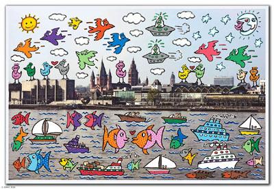 James Rizzi: Briefmarken für Deutschland 2008-019