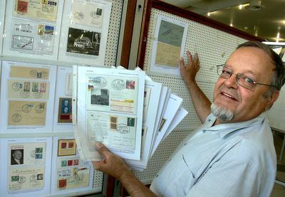 Briefmarkenfreunde feiern Geburtstag 20080711