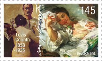 Neue Briefmarken würdigen Corinth und Kafka Ab681910