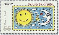 Ulkiger Vogel: Neue Briefmarken mit Rizzi-Motiven Bildan10