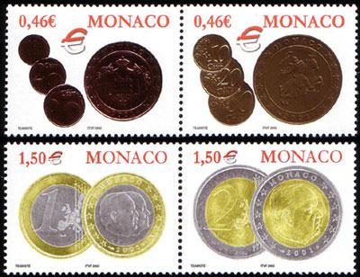 Nachtrag - Münzen auf Briefmarken Mc260910