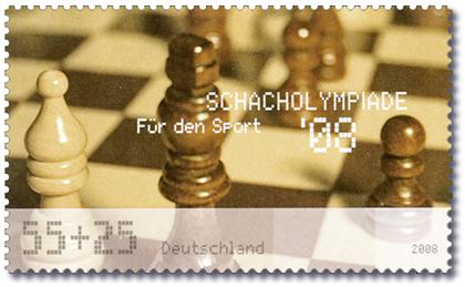 """Präsentation der Sonderbriefmarke """"Für den Sport"""" - Schacholympiade Dresden Nachri10"""