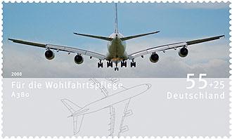 Keineswegs nur für Luftpost: Die neuen Wohlfahrtsmarken zeigen Luftfahrzeuge News0811