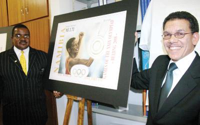 NamPost präsentiert Briefmarken für die Olympischen Spiele Sp-bri10