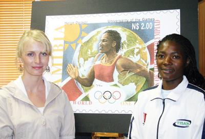 NamPost präsentiert Briefmarken für die Olympischen Spiele Sp-bri11