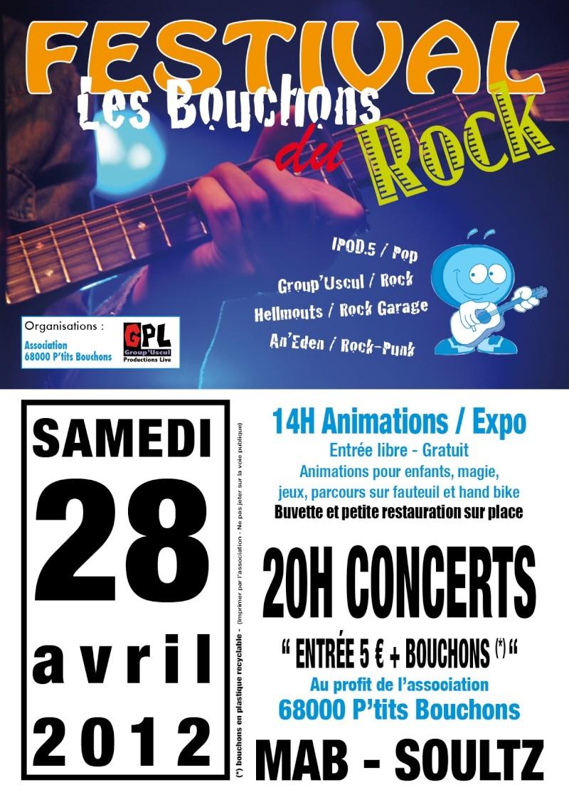 Festival les bouchons du Rock - Samedi 28 Avril - Soultz A6-fly10