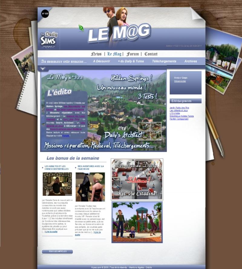 Daily Sims, Sims 2 & 3 Mag32310
