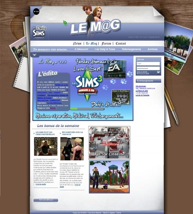 Daily Sims, Sims 2 & 3 Mag32510